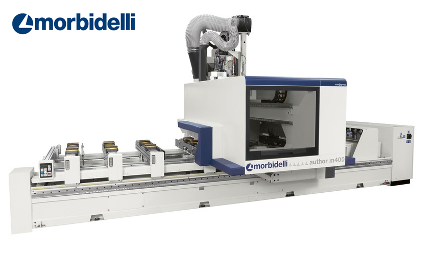 CNC-kone - Morbidelli Author M 800