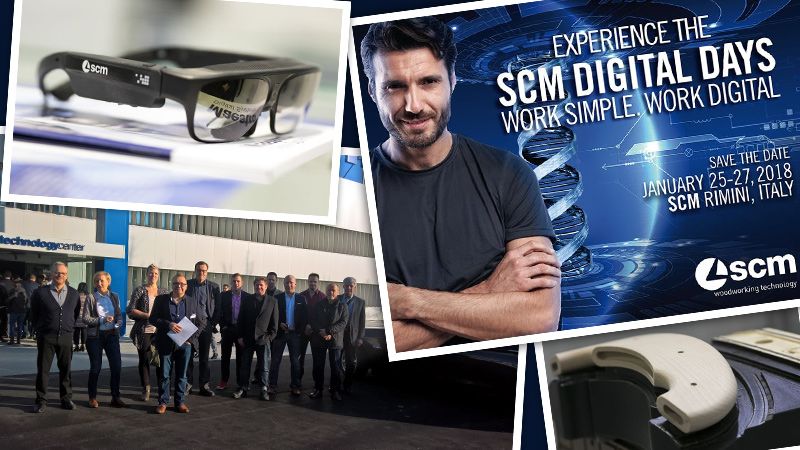 Tech Tour 2018 - SCM Group Digital Days - Cefla